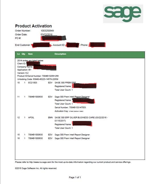 sage 50 2017 serial number and activation key