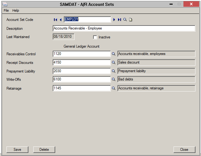 Cleaning up AR transactions using Sage 300 Write-Off process